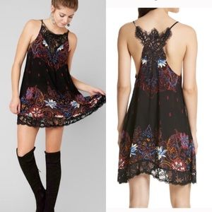 Free People intimately Who's Sorry Slip Dress Lace